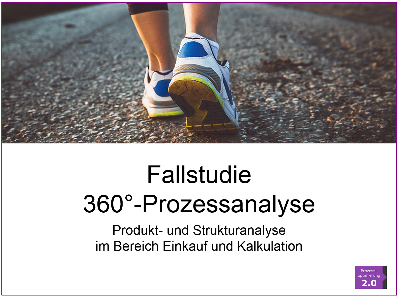 Tool für die Prozessanalyse – Fallstudie 360°-Prozessanalyse