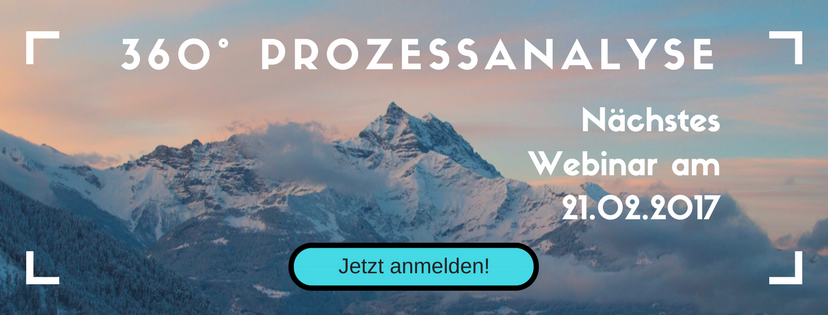 [Live-Webinare] 360°-Prozessanalyse
