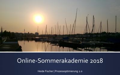 Mit der Online-Sommerakademie ins 2. Halbjahr 2018 starten